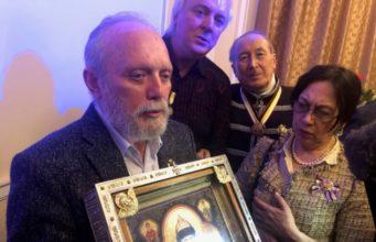 мироточивая икона св. царя Николая